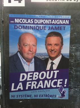 Les Gaullistes, élections Européennes