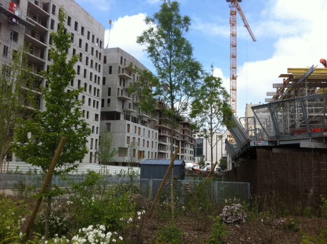 IMMEUBLES EN CONSTRUCTION CLICHY BATIGNOLLES