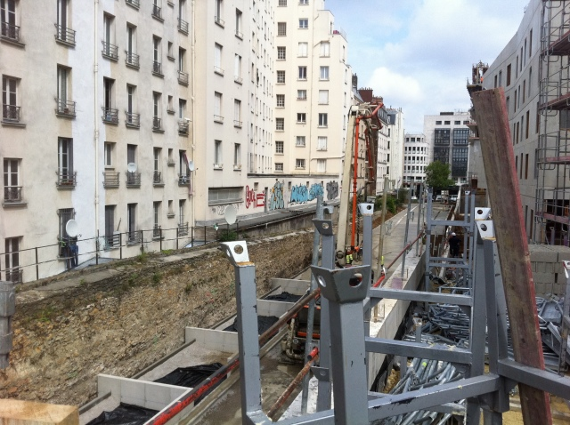 CHANTIER PARC MARTIN LUTHER KING