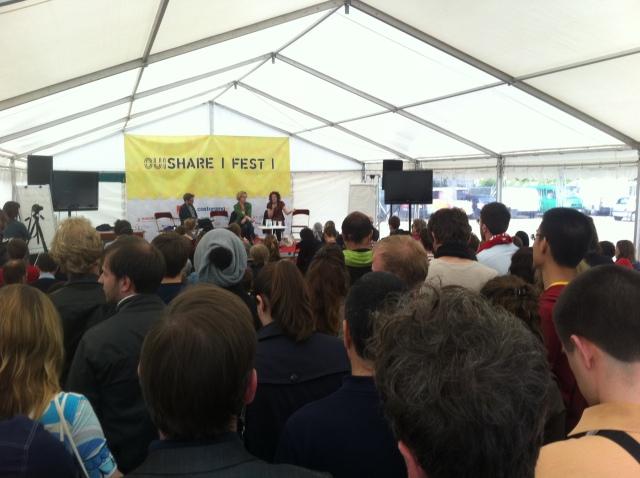 Ouishare festival au cabaret sauvage
