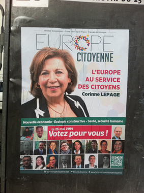 Corinne Lepage élections européennes