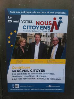 Nous citoyens- campagne élections européennes
