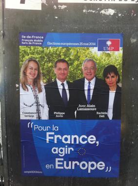 ump élections européennes